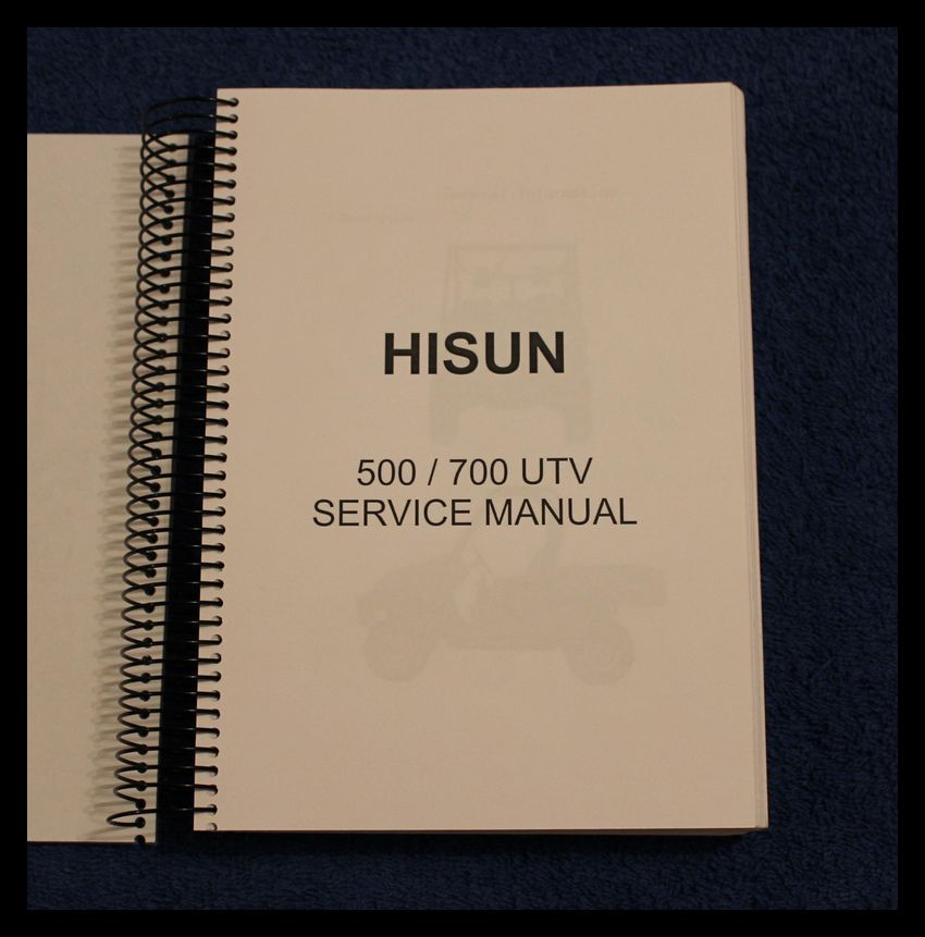 hisun 500 atv repair manual